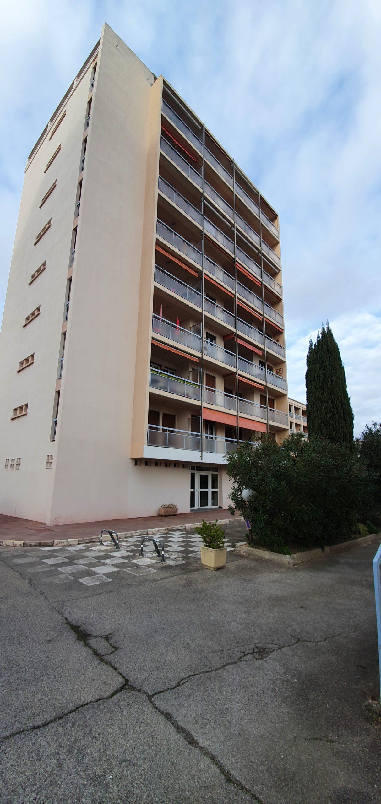 Marignane appartement dans une résidence de standing en centre ville